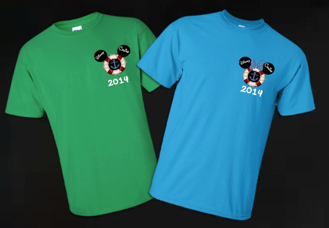Disney Mickey Cruise Family Vacation T Shirts The